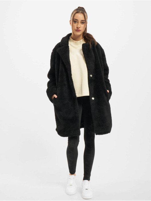 Urban Classics Manteau Ladies Oversized noir