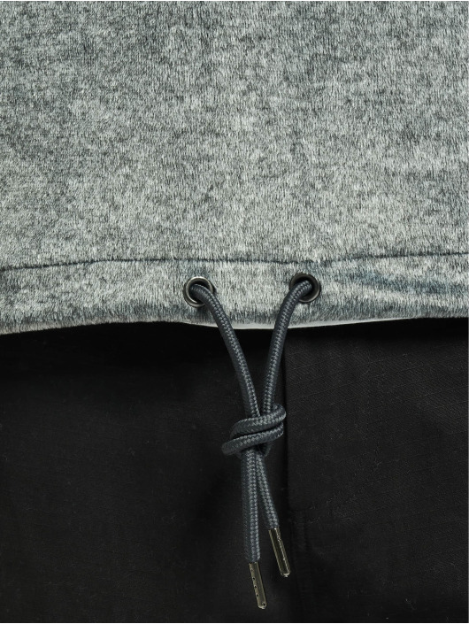Urban Classics Mikiny Plushy šedá