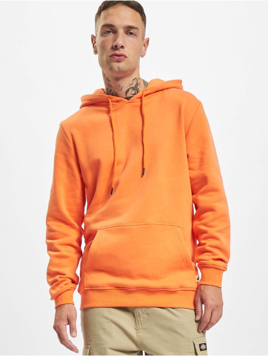 Urban Classics Mikiny Organic Basic oranžová