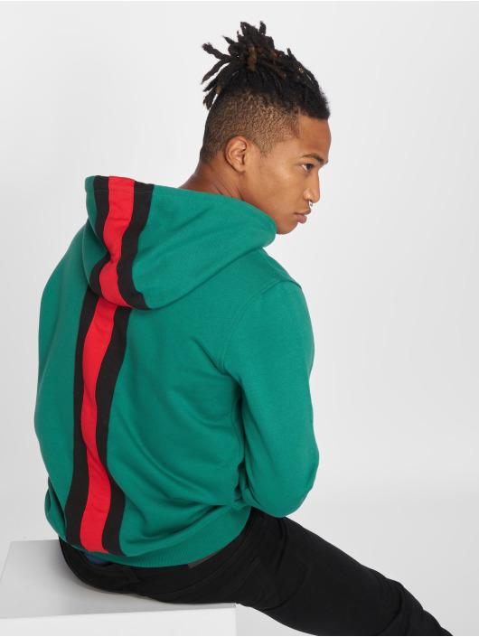 Urban Classics Mikiny Back Stripe zelená