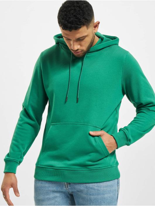 Urban Classics Mikiny Basic Terry zelená