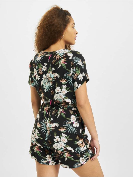 Urban Classics Monos / Petos Ladies Short Viscose Belt negro