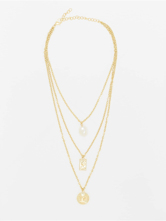 Urban Classics More Layering Pearl Basic gold colored