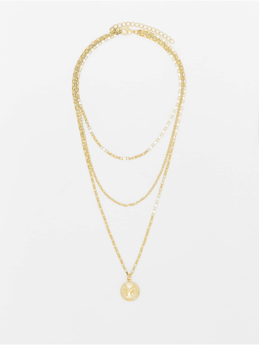 Urban Classics More Layering Amulet gold colored