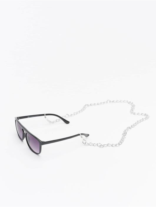 Urban Classics Occhiali Sunglasses Mykonos With Chain nero
