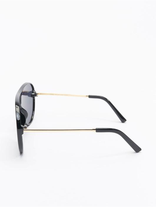 Urban Classics Okulary Sunglasses Naxos With Chain czarny