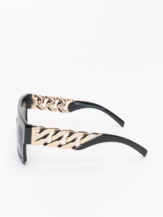 Urban Classics Okuliare Sunglasses Zakynthos With Chain èierna