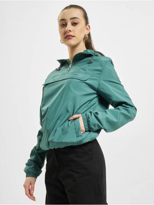 Urban Classics Overgangsjakker Basic Pull Over grøn