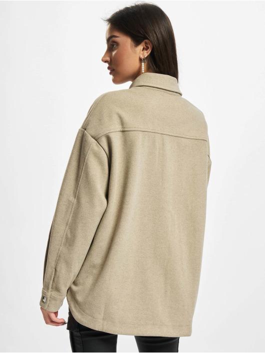 Urban Classics overhemd Ladies Classic beige