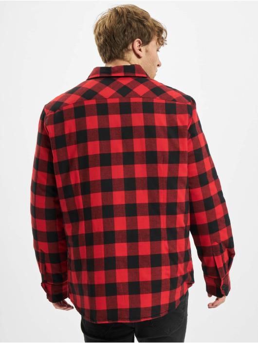 Urban Classics overhemd Padded Check zwart