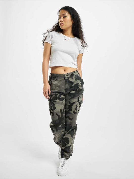 Urban Classics Pantalon cargo Ladies High Waist camouflage