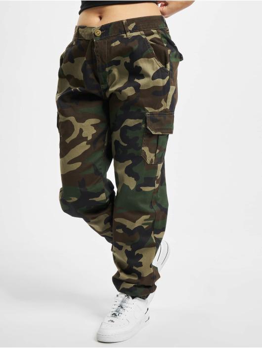 Urban Classics Pantalon cargo Ladies High Waist Camo camouflage