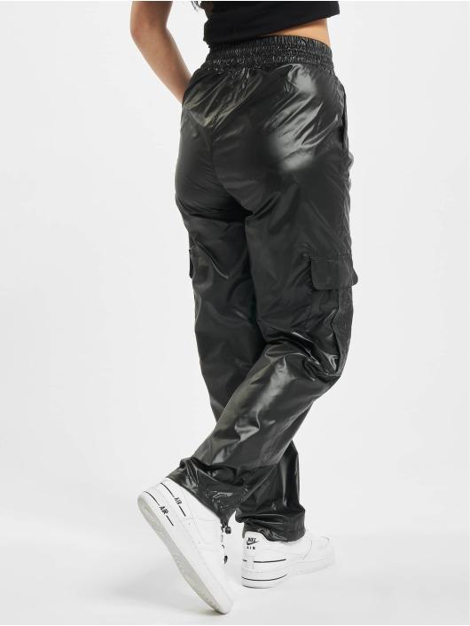 Urban Classics Pantalon cargo Shiny Cargo noir