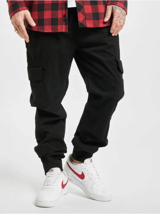 Urban Classics Pantalon cargo Military noir