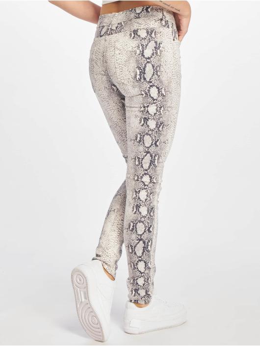 Urban Classics Pantalon chino Animal Stretch blanc