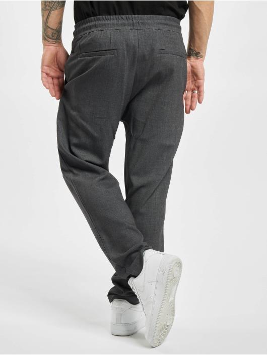 Urban Classics Pantalon chino Comfort Cropped gris