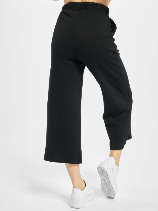 Urban Classics Pantalon chino Culotte noir