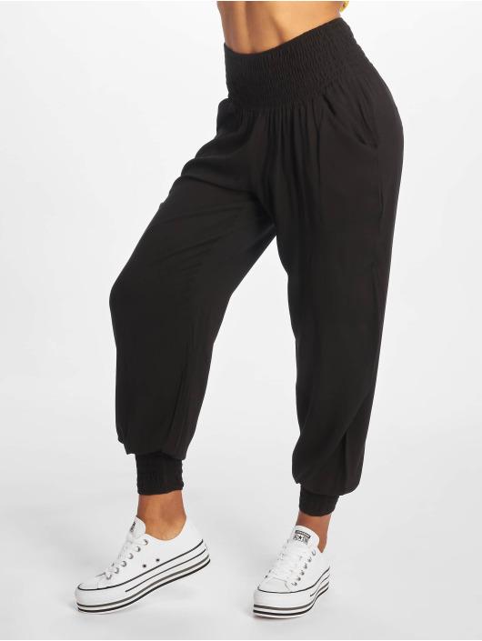 Urban Classics Pantalon chino Sarong noir