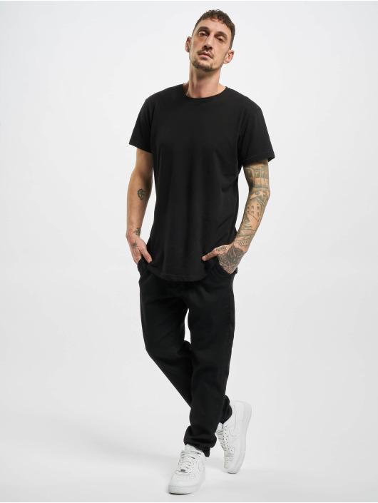 Urban Classics Pantalon chino Knitted noir