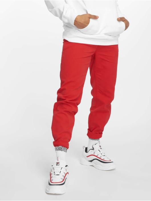 Urban Classics Pantalon chino Basic rouge