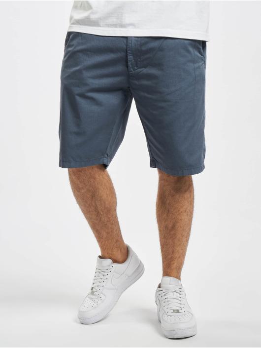 Urban Classics Pantalón cortos Straight Leg Chino With Belt azul