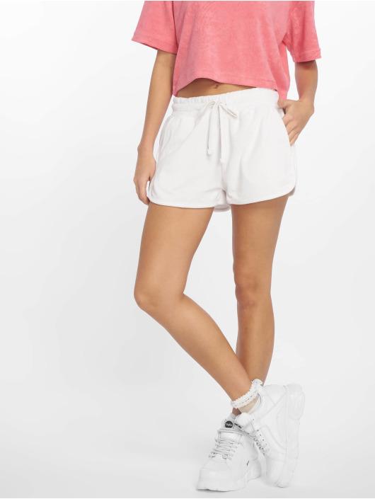 Urban Classics Pantalón cortos Towel blanco