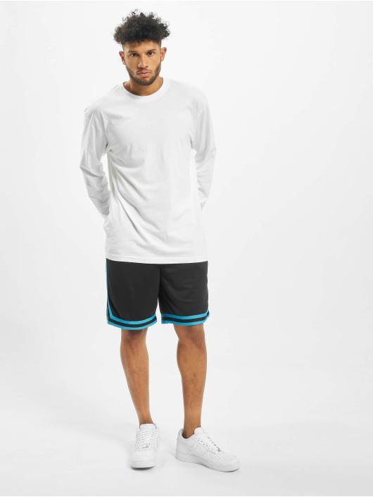 Urban Classics Pantalón cortos Stripes Mesh negro