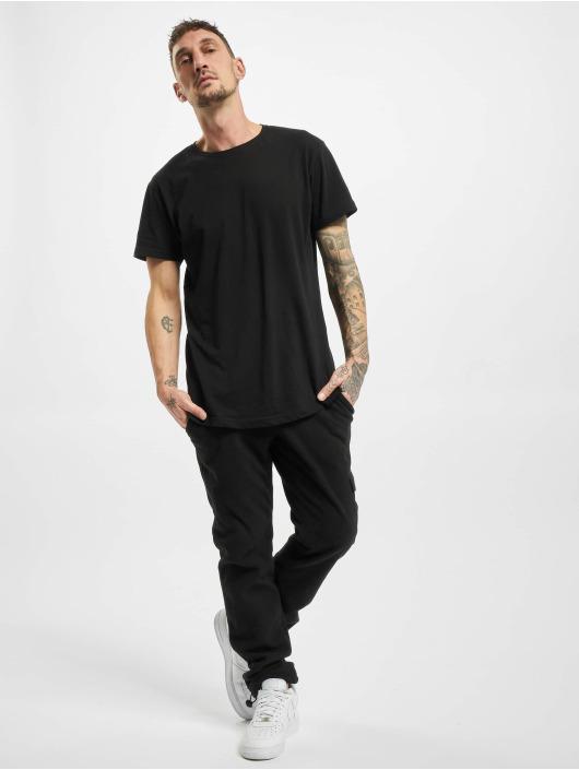 Urban Classics Pantalón deportivo Polar Fleece negro