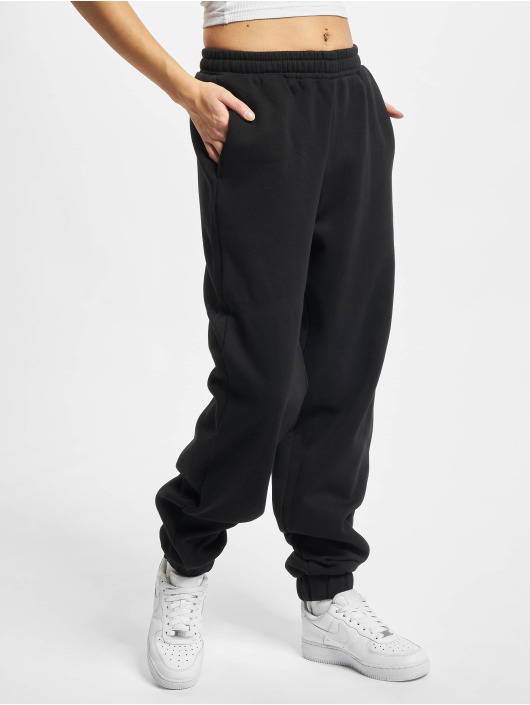 Urban Classics Pantalón deportivo Ladies Organic High Waist Ballon negro