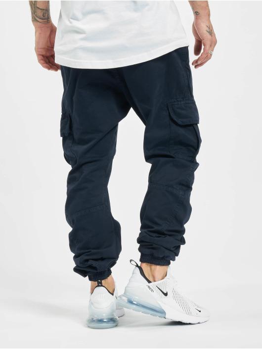 Urban Classics Pantalone Cargo Cargo blu