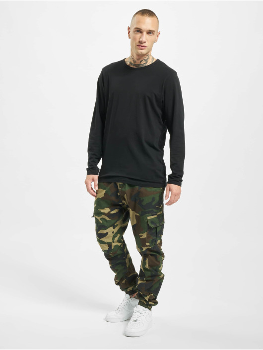Urban Classics Pantalone Cargo Ripstop Cargo mimetico