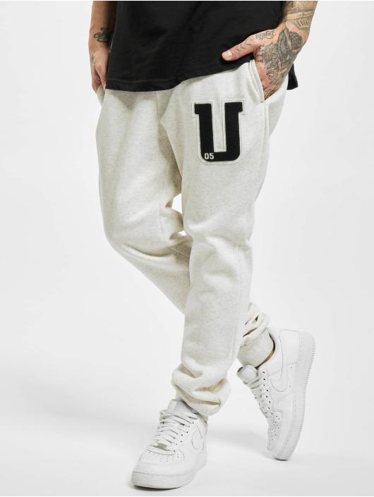 Urban Classics Pantalone ginnico Frottee Patch grigio