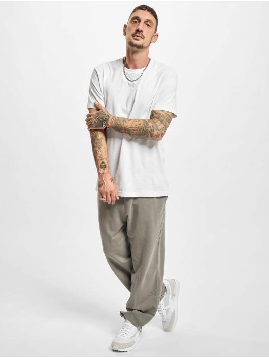 Urban Classics Pantalone ginnico Overdyed grigio