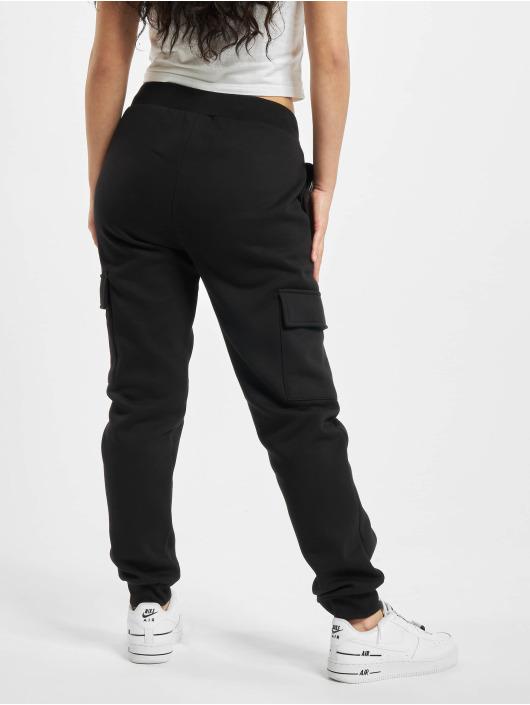 Urban Classics Pantalone ginnico Ladies Cargo nero