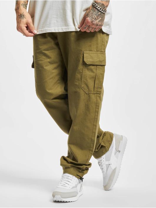 Urban Classics Pantalone ginnico Ripstop oliva