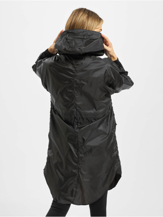 Urban Classics Parka Ladies Transparent èierna