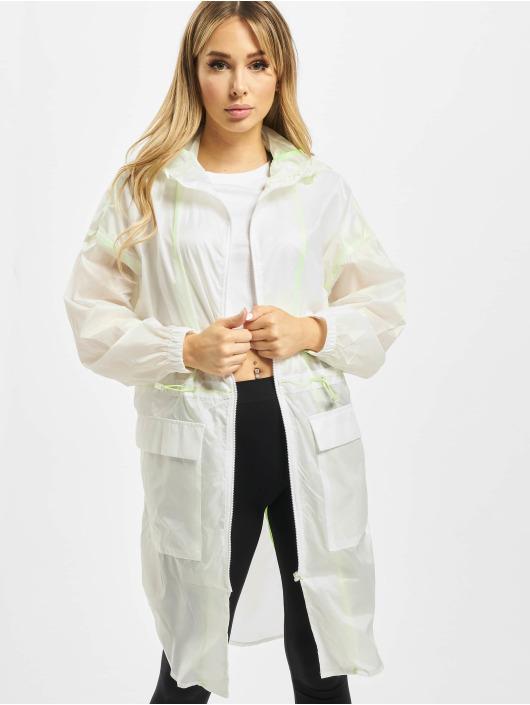 Urban Classics Parka Ladies Transparent biela