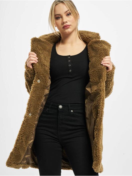 Urban Classics Parka Ladies Oversized Sherpa bruin