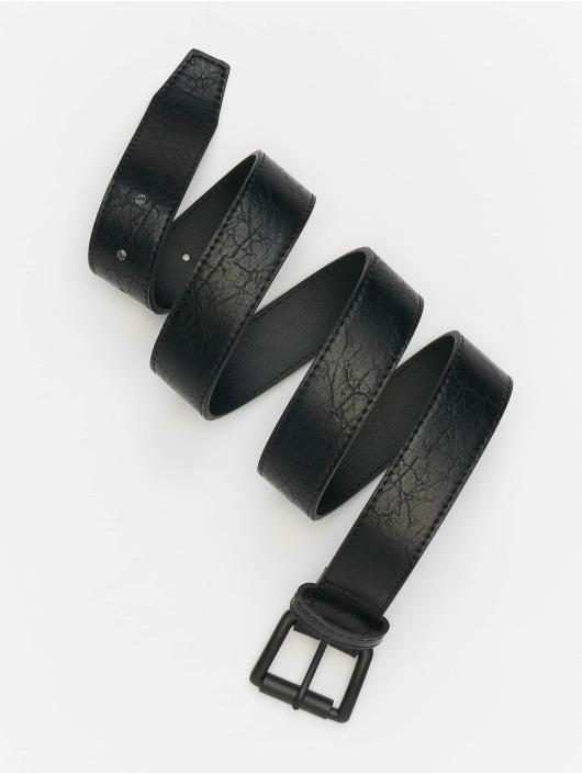 Urban Classics Paski Marmorized PU Leather czarny