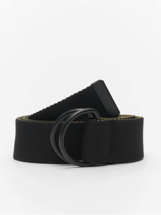 Urban Classics Paski Easy D-Ring 2-Pack czarny