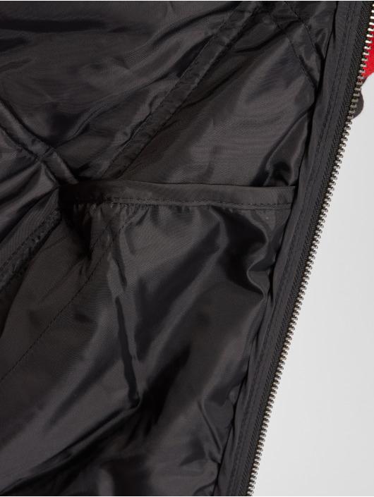 Urban Classics Pilotjakke Big Diamond Quilt svart
