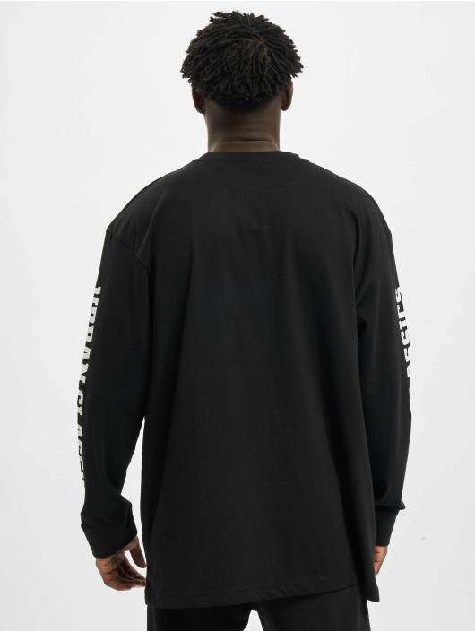 Urban Classics Pitkähihaiset paidat Sleeve Logo Boxy Pocket musta