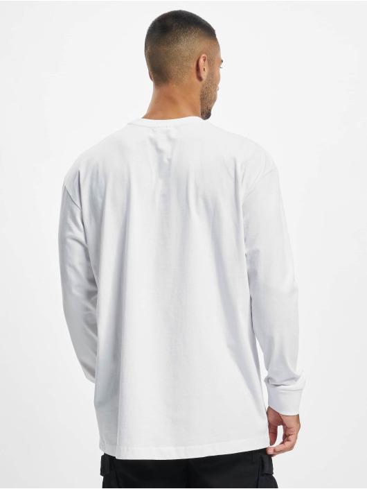 Urban Classics Pitkähihaiset paidat Boxy Heavy valkoinen
