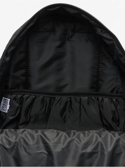Urban Classics Plecaki Diamond Quilt Leather Imitation czarny