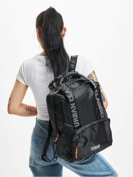 Urban Classics Plecaki Recycled Ribstop czarny