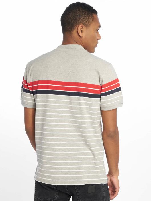 Urban Classics Polo Classic Stripe gris