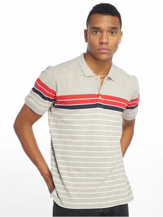 Urban Gris Classics Classic 635989 Polo Stripe Homme bf7Ygy6