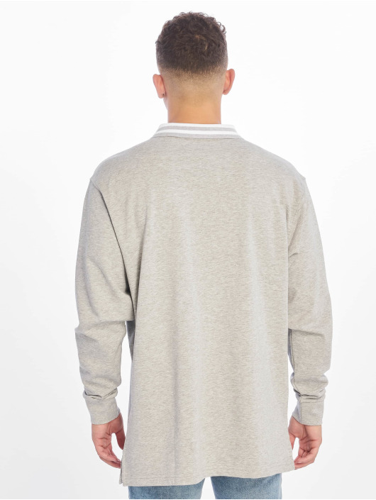 Urban Classics Poloshirt Rugby Panel grey