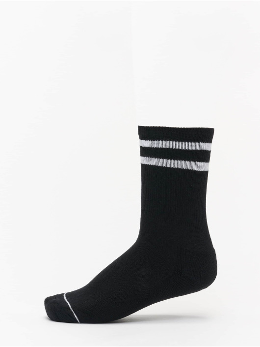 Urban Classics Ponožky 2 Tone College Double Pack èierna