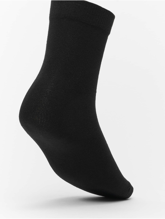 Urban Classics Ponožky Heart Socks 3-Pack èierna